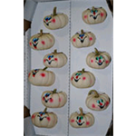 Additional Images for Decorative Dried Accents Painted Baby Boo Pumpkins