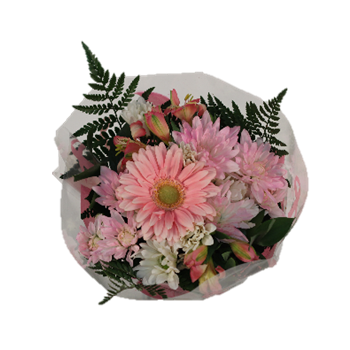 Bouquet Breast Cancer Awareness Bouquet Small (Pack 10)