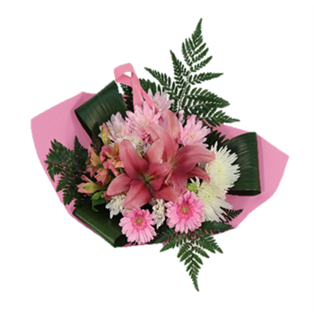 Bouquet Breast Cancer Awareness Bouquet Large (Pack 6)
