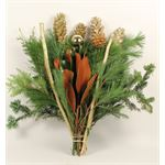 Additional Images for Bouquet Greens & Gold Large (Pack 10)